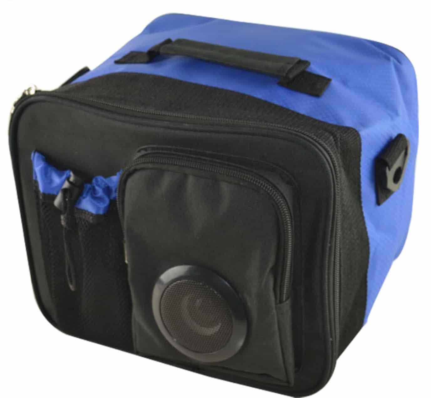 Werbemittel für IT & Consulting, Kühltasche mit Bluetooth Box