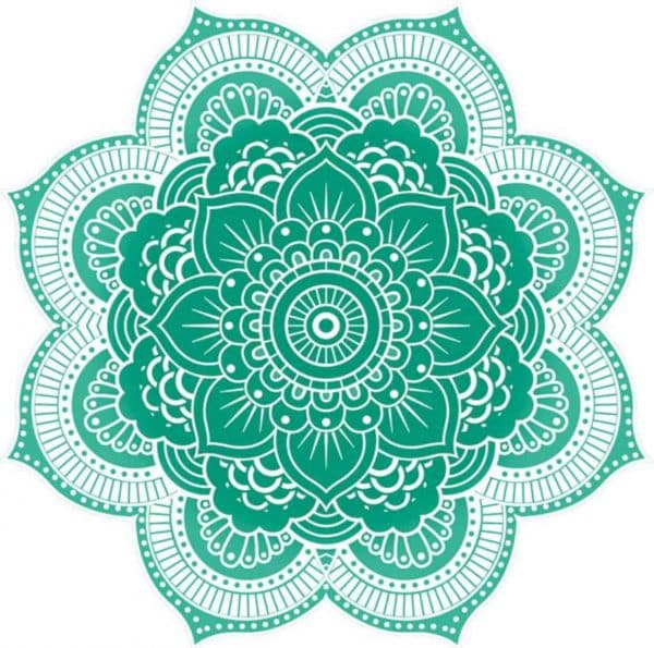 Give Away, Yoga Matte Mandala rund